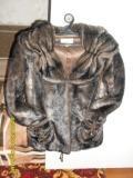 Продается шуба с искусственным мехом «под норку»,  б/у.