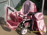 Продается коляска детская трансформер,  зима-лето,  б/у.